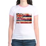 Hawaii Flag Jr. Ringer T-Shirt