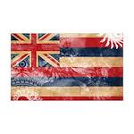 Hawaii Flag 38.5 x 24.5 Wall Peel