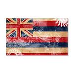Hawaii Flag 22x14 Wall Peel