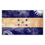 Honduras Flag Sticker (Rectangle 10 pk)