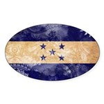 Honduras Flag Sticker (Oval 10 pk)