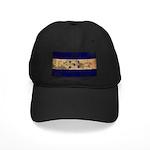 Honduras Flag Black Cap