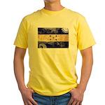 Honduras Flag Yellow T-Shirt