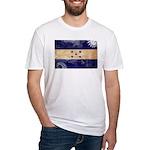 Honduras Flag Fitted T-Shirt