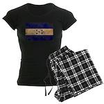 Honduras Flag Women's Dark Pajamas
