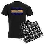 Honduras Flag Men's Dark Pajamas