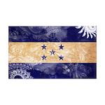Honduras Flag 38.5 x 24.5 Wall Peel