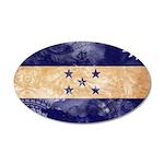 Honduras Flag 22x14 Oval Wall Peel