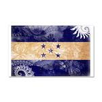 Honduras Flag Car Magnet 20 x 12