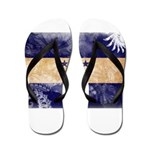 Honduras Flag Flip Flops
