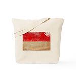 Indonesia Flag Tote Bag