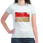 Indonesia Flag Jr. Ringer T-Shirt