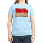 Indonesia Flag Women's Light T-Shirt