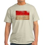 Indonesia Flag Light T-Shirt