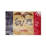 Iowa Flag Rectangle Magnet
