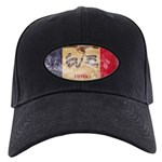 Iowa Flag Black Cap