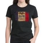 Iowa Flag Women's Dark T-Shirt