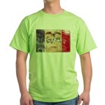 Iowa Flag Green T-Shirt