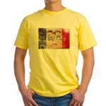 Iowa Flag Yellow T-Shirt