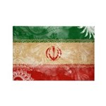 Iran Flag Rectangle Magnet (100 pack)