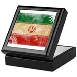 Iran Flag Keepsake Box