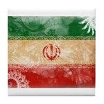 Iran Flag Tile Coaster