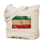 Iran Flag Tote Bag