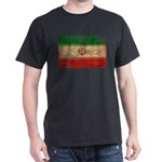 Iran Flag Dark T-Shirt