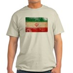 Iran Flag Light T-Shirt