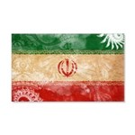 Iran Flag 22x14 Wall Peel