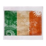 Ireland Flag Throw Blanket