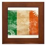 Ireland Flag Framed Tile