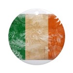 Ireland Flag Ornament (Round)