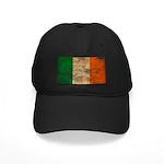 Ireland Flag Black Cap