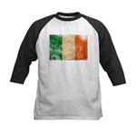 Ireland Flag Kids Baseball Jersey