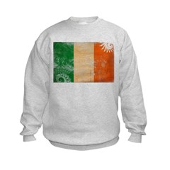 Ireland Flag Kids Sweatshirt
