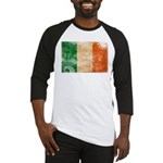 Ireland Flag Baseball Jersey