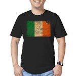 Ireland Flag Men's Fitted T-Shirt (dark)