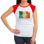 Ireland Flag Women's Cap Sleeve T-Shirt