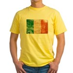 Ireland Flag Yellow T-Shirt