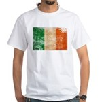 Ireland Flag White T-Shirt