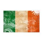 Ireland Flag 38.5 x 24.5 Wall Peel