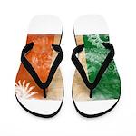 Ireland Flag Flip Flops