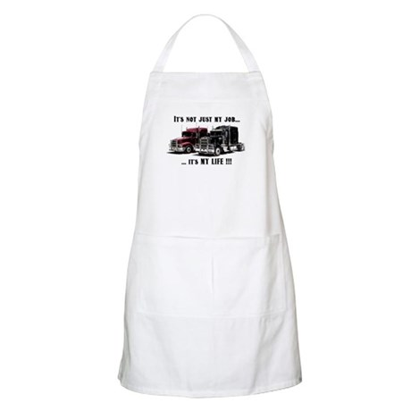 Trucker - it's my life Apron