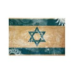 Israel Flag Rectangle Magnet (100 pack)