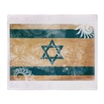 Israel Flag Throw Blanket