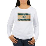 Israel Flag Women's Long Sleeve T-Shirt