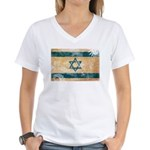 Israel Flag Women's V-Neck T-Shirt