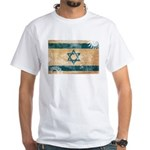 Israel Flag White T-Shirt