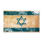 Israel Flag 22x14 Wall Peel